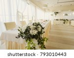 wedding decorations and details ... | Shutterstock . vector #793010443