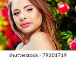 close up portrait of a woman... | Shutterstock . vector #79301719