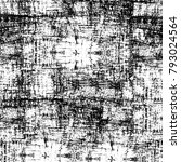grunge texture. black and white ... | Shutterstock . vector #793024564