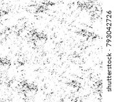 grunge texture. black and white ... | Shutterstock . vector #793042726