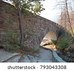 stone bridge over baring creek... | Shutterstock . vector #793043308