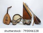 azerbaijan national musical... | Shutterstock . vector #793046128