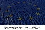european union data protection... | Shutterstock . vector #793059694
