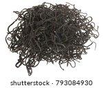 dried sargassum pallidum on...   Shutterstock . vector #793084930