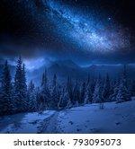 Milky Way And Tatras Mountains...