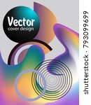 covers templates set with... | Shutterstock .eps vector #793099699