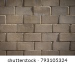close up of cement building... | Shutterstock . vector #793105324