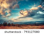 fairy tale scenery the... | Shutterstock . vector #793127080