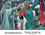 new york city   aug. 29 ... | Shutterstock . vector #793133974