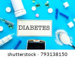 """composition with word """"diabetes""""...   Shutterstock . vector #793138150"""