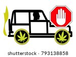 no driving under the influence... | Shutterstock . vector #793138858