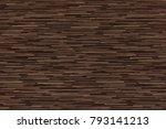 seamless wood floor texture ... | Shutterstock . vector #793141213