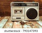 Retro Technology Of Radio...