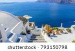 oia  santorini   greek islands | Shutterstock . vector #793150798