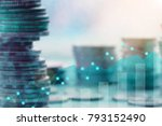 finance and investment concept... | Shutterstock . vector #793152490