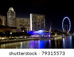 embankment of singapore in the... | Shutterstock . vector #79315573