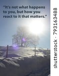 Small photo of Inspirational quote by ancient Greek philosopher on nature background