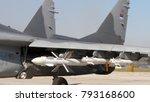 mikoyan mig 29 fulcrum combat... | Shutterstock . vector #793168600