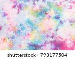 tie dye pattern abstract...   Shutterstock . vector #793177504