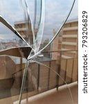 broken glass close up  spoiled... | Shutterstock . vector #793206829