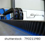 cables of electric... | Shutterstock . vector #793211980
