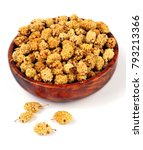dried mulberries in bowl... | Shutterstock . vector #793213366