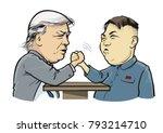 01. 13.2018. political... | Shutterstock .eps vector #793214710