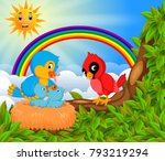 vector illustration of many... | Shutterstock .eps vector #793219294