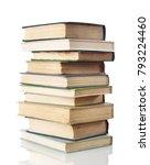 books on white | Shutterstock . vector #793224460