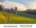 november golden hour at ochs... | Shutterstock . vector #793229539