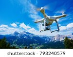 drone with digital camera | Shutterstock . vector #793240579