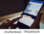 bangkok  thailand   january 14  ...   Shutterstock . vector #793249159