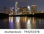 austin capital of texas | Shutterstock . vector #793252378