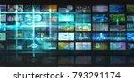 big data and advanced analytics ... | Shutterstock . vector #793291174