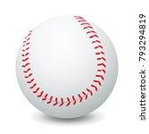 baseball   stock vector | Shutterstock .eps vector #793294819