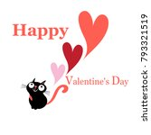 greeting vector greeting card... | Shutterstock .eps vector #793321519