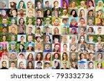 96 Faces   Children  Adults ...