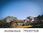 tulum ruins  mexico | Shutterstock . vector #793357528