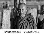 u bein bridge  amarapura ... | Shutterstock . vector #793360918
