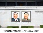 north korea  pyongyang  ... | Shutterstock . vector #793369609
