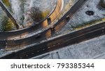 aerial view on riga elevated... | Shutterstock . vector #793385344