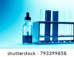 modern laboratory with chemical ... | Shutterstock . vector #793399858