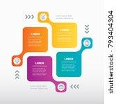 vector info graphic of... | Shutterstock .eps vector #793404304