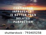 inspirational quote  ... | Shutterstock . vector #793405258