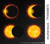 vector phases of the total... | Shutterstock .eps vector #793408873
