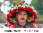 marrakech   dec 31  water... | Shutterstock . vector #793414558