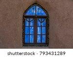 blue window art | Shutterstock . vector #793431289