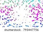 light multicolor  rainbow... | Shutterstock .eps vector #793447756