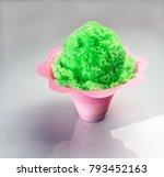 hawaiian shave ice  shaved ice... | Shutterstock . vector #793452163