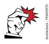 snap fingers illustration   Shutterstock .eps vector #793455970